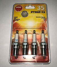 x4 NGK PTR6F-13 7569 Platinum Spark Plugs for Ford Mondeo Mk3 1.8 2.0 16V 00-07