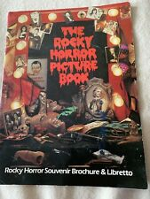 Rocky Horror Picture Show Poster Program On Stage From London 1980
