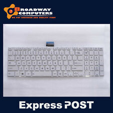 Keyboard for Toshiba Satellite C850 C850D L850 L850D L870, White
