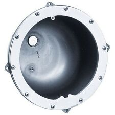 """Amerlite 1"""" Large Rear Hub Stainless Steel Niches for Concrete Pool & Spa Light"""