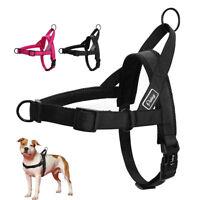 No Pull Stitching Pet Dog Harness Mesh Padded Nylon Quick Fit Adjustable S M L