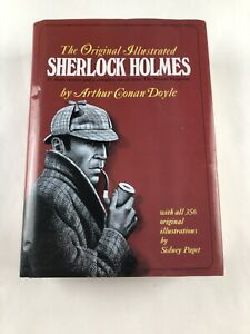 The Original Illustrated SHERLOCK HOLMES By Arthur Conan Doyle Hardcover Book