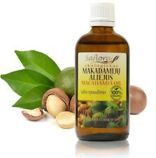 Macadamia Oil 100 ml / 3.6 oz | 100% Pure Organic Cold Pressed