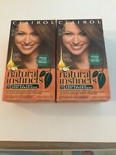 2~ Clairol Natural Instincts 28 Shampoos  Hair Color 10 Minute DARK BLONDE #7