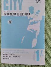 Manchester City V B V Borussia 09 Dortmund - 11th August 1967