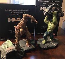 Mavel's The Incredible Hulk Movie Kotobukiya Limited Art Statue - Box