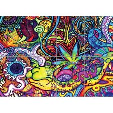 Psychedelic Trippy Art Snail Giant Art Picture Print Home Decor Poster