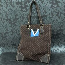 Rise-on LOUIS VUITTON 2005 LV CUP MONOGRAM MINI LIN TANGIER Brown Tote Bag #6
