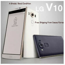 LG V10 F600 Used A-Grade Smart Mobile Phone Unlocked 4G Android Phone 5.7 White