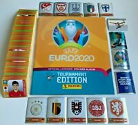 Panini EURO EM 2020 Tournament Edition - Komplett Set alle 678 Sticker + Album