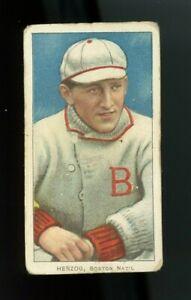 1909-1911 T206 Buck Herzog Boston