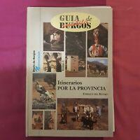 Libro Guia inedita de Burgos Itinerarios por la provincia Diario de Burgos viaje
