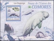 L) 2009 FRANCE, COMORE UNION, FAUNA, ISLAND, DUGONG, OCEAN, BLUE, MNH