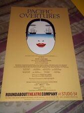 PACIFIC OVERTURES, RARE 2004 Broadway Revival Poster, B.D. Wong, Sondheim
