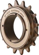 "BMX Shimano FREE WHEEL  SF 1200 Single Freewheel 16t x 1/8"" Single speed brown"