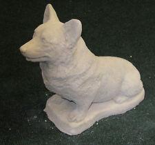 CONCRETE WELSH CORGI PEMBROKE DOG STATUE / MONUMENT