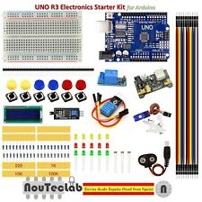 Upgrade Starter Kit UNO R3 Breadboard LED LCD SG90 DHT11 Relay MB102 for Arduino