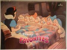 Disney Favorites 1986 Calendar (Hallmark #650Hc 856-5)