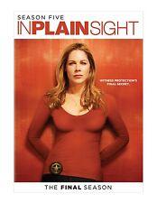 IN PLAIN SIGHT : COMPLETE SEASON 5  - DVD - Region 1 Sealed