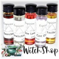 2dr AMBER OIL by Espiritu Anna Riva Wicca Witch Spells Magick Spell Oils