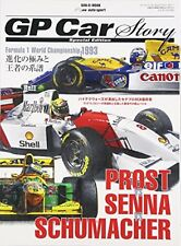GP Car Story Special Edition Japanese Magazine Prost Senna Schumacher F/S wTrack