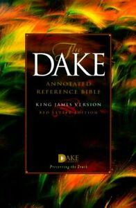 Dake Annotated Reference Bible-KJV by Dake Bible Sales