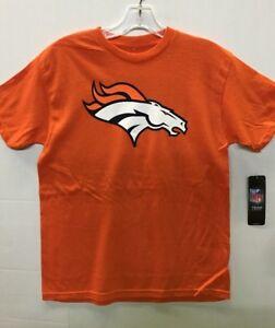 Denver Broncos NFL Youth Orange Basic Logo T-Shirt, Medium