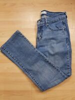 Levi's 505 Men's Medium Blue Straight Leg Denim Jeans 30W 28L Short