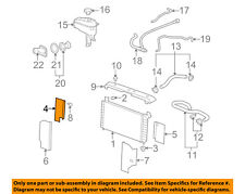 GM OEM Radiator-Baffle Right 10392942