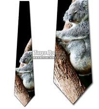 Koala Ties Mens Animal Necktie