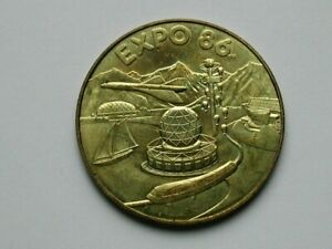 Vancouver BC Canada 1986 Souvenir Medal for World Expo '86 with Expo 86