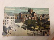 Vintage Postcard, Australia, Sydney, Chancery Square