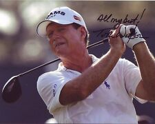 TOM WATSON Signed Autographed PGA GOLF Photo