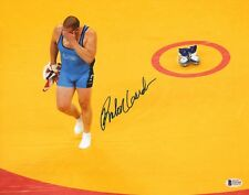 Rulon Gardner Signed 11x14 Photo BAS COA 2000-04 Olympic USA Retirement Picture
