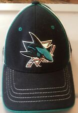 San Jose Sharks NHL Fitted Hat Size Small