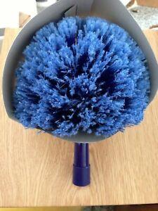 Rubbermaid Cobweb Duster Head Blue Knocks Down Spider Web Telescopic Replacement