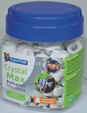 Superfish Crystal MAX 500ml ANELLI IN CERAMICA BIO Materiali Filtranti Acquario Fish Tank