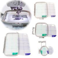 4Pcs Cross Stitch Premium Embroidery Hoop Tool Set for Brother PE780 PE770 PE700