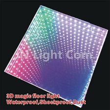 Wedding Decoration Magic 3D toughened floortile 5050 Led Dancing Floor Light