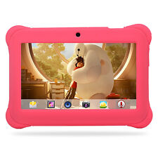 7'' Tablet for Kids Google Android 4.4 KitKat Quad Core Bluetooth WiFi Pink