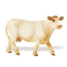 Charolais vaca 13 cm serie granja Safari Ltd 231229