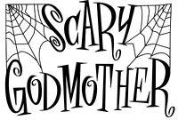 Kids read SCARY GODMOTHER Set BRAND NEW Halloween JILL THOMPSON w PC & Memo Pad