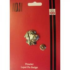 Wire Haired Dog Pewter LAPEL PIN Badge Pointer Owner Lover Birthday Present
