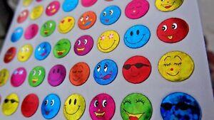 960 Small Reward Sticker Smiling Face School Children Teacher Aid Potty training