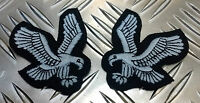 Genuine British Military Issue Army Air Corp Swooping Eagle Badges L&R Pair  NEW