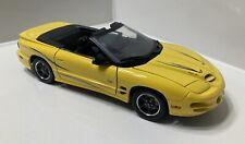 Road Signature 1:18 2002 Pontiac Firebird 35th Anniversary Collectors Edition