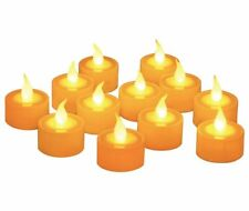 Furora LIGHTING Flameless LED Tealight Candles - Battery Operated Tea Lights