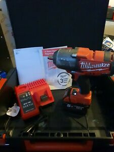 "Milwaukee M18CHIWF12-0 18V FUEL 1/2"" Impact Wrench Plus 5.0Ah Battery + Charger"