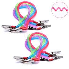 12Pcs Dental Instrument Spring Rope Scarf Bib Clip Cord Napkin Holders Colorful