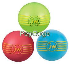 "JW iSqueak Squeaker Ball MEDIUM 2.75"" Durable Squeaky Dog Toy"